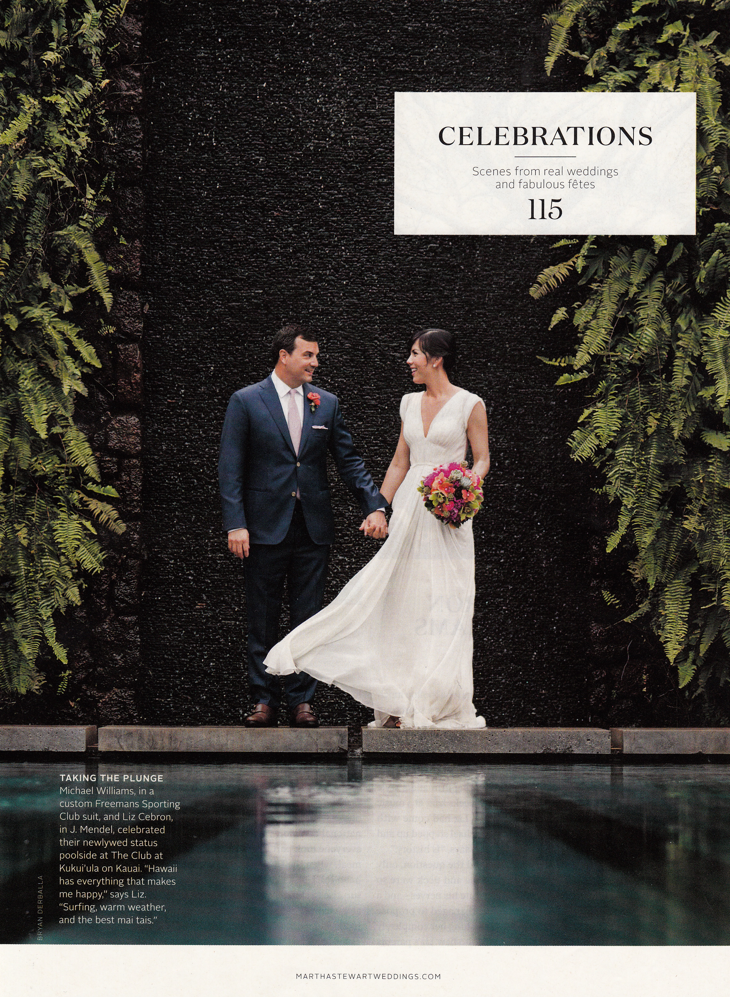 Mira Mira Events Kauai featured in Martha Stewart Weddings Style Issue