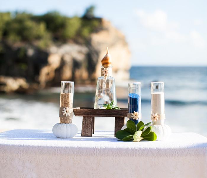 Renewal of Vows Kauai MiraMira Events table setting